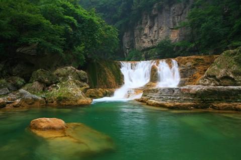 陕西大蟒河风景区