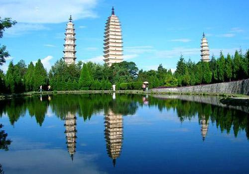 大理主要人文古迹旅游景点:崇圣寺三塔 ·云南驿古镇 ·巍山古城