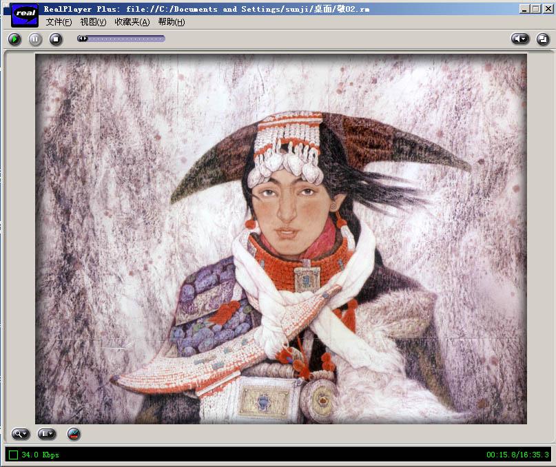 cctv-书画频道-画家——敬庭尧图片