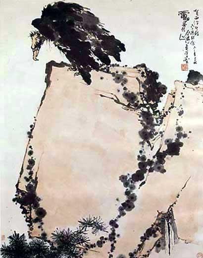 棱角蝴蝶手绘画