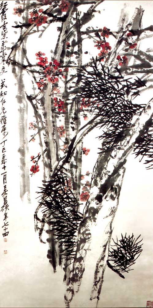 吴昌硕作品欣赏 - lidongliang1963.h - 敲开上帝之门的博客