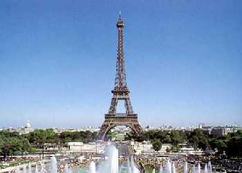 巴黎尔铁塔的手机背景图片