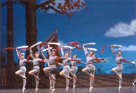 吴祖强/芭蕾舞剧《红色娘子军》即将在北展演出央视国际(2005年06月23...