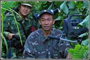 《森林隐士》摄像余运森和导演杨小肃