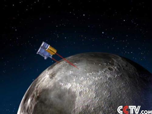 激光高度计可以精确测量从卫星到星下点月球表面的