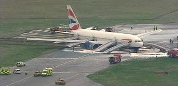 Incidente aereo Heathrow Londra