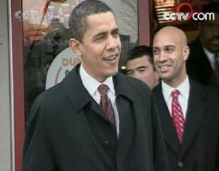 Polls gave Obama double-digit leads in both Maryland and Virginia. (CCTV.com)