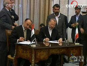 Over the past two days, Iran and Iraq signed seven agreements to cooperate on customs, transportation, and industrial development.