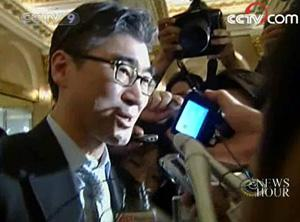 After a three day visit to Pyongyang, the US nuclear envoy, Sung Kim, arrived in Seoul on Thursday.(CCTv.com)