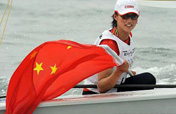 Xu Lijia wins first sailing bronze for Olympic host