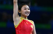 China reaps second Olympic trampoline gold