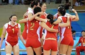 Roundup: China meets Brazil, Cuba takes on US in Olympic women´s volleyball semis