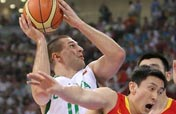 Lithuania beats China 94-68 to advance to the Men´s Basketball semifinal