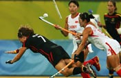 China beats Germany to play for gold in Women´s Hockey