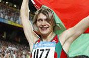 Belarusian Miankova wins women´s hammar throw gold