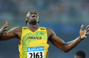 Bolt breaks 200m world record