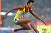 Jamaican Walker wins women´s 400m hurdles gold