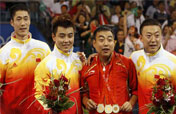 Long, winding road for China´s men to catch up with women at Olympics