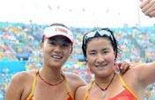 China´s Xue/Zhang beat Brazil to get women´s beach volleyball bronze