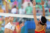 American duo wins women´s beach volleyball gold medal at Beijing Olympics