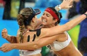 American May-Treanor/Walsh claim beach volleyball gold