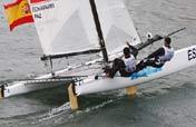 Spain wins Tornado Sailing gold