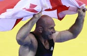 Georgian Mindorashvili wins men´s freestyle 84kg wrestling gold