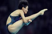 Chinese diver Chen Ruolin crowned in 10m platform