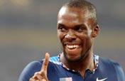 American Merritt wins men´s 400m gold medal