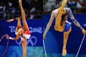 Gymnastics rhythmic: feast for your eyes