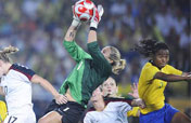 U.S. downs Brazil 1-0 in extra time to retain Olympic women´s soccer title