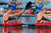 Germany wins men´s kayak double (K2) 1,000m gold