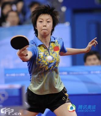 World number one Zhang Yining, world champion Guo Yue and Grand Slam veteran Wang Nan continued to steamroll over all before them after winning a team gold earlier this week.