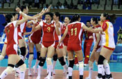 Bronze medal restores confidence of China´s women volleyballers