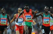 Kenya´s Wilfred Bungei wins Olympic men´s 800m gold