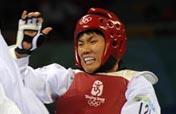 South Korea wins taekwondo men 80kg gold medal