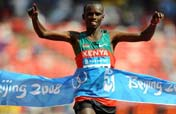 Wanjiru wins Men´s marathon gold