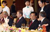 Chinese president: Beijing Games promote Olympic spirit
