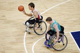 A basketball competition in Paralympic Games (file photo)