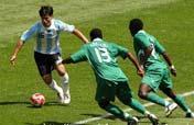 Argentina celebrates soccer gold