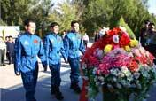 China´s taikonauts´ daily work disclosed
