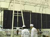 Solar panels supply energy for Shenzhou 7