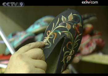 Zhong Mantian's fascination with shoes goes back to the 1960s, when he went to work in Shanxi province in north China.