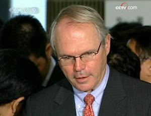 US chief nuclear envoy Christopher Hill has held talks with his Japanese counterpart, Akitaka Saiki, ahead of next round of six-party talks on the DPRK nuclear issue.(CCTV.com)