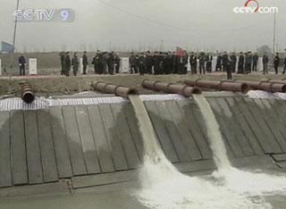 The Flood Control and Drought Relief Headquarters of the Yellow River has raised a drought alert to red, setting up a level-A response system to fight the water emergency.