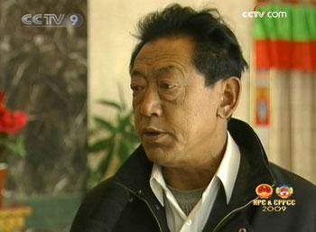 Purwang, member of Tibet People's Political Consultative Conference, said,