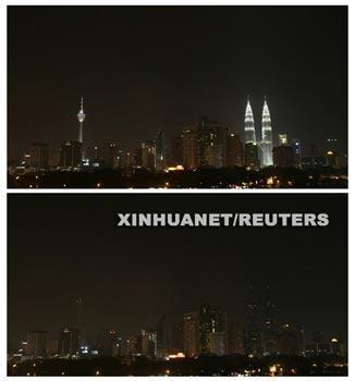 Earth Hour in Malaysia