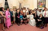 Wives and guests of G20 delegates attend working dinner