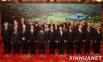 PresidentHuJintaohasexpressedChina'sappreciationtotheinternationalcommunityforitshelpafterlastyear'sdevastatingearthquakeinSichuanProvince.