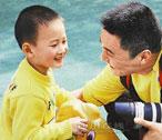 &quot;salute kid&quot; <br>Lang Zheng